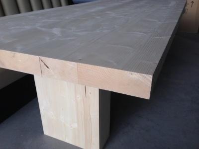 Massief Houten Tafel : Sachrell massief houten tafels op maat gemaakt